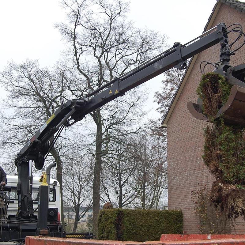 Aanleg tuin en bouw van schutting in Hengelo - 10 van 35