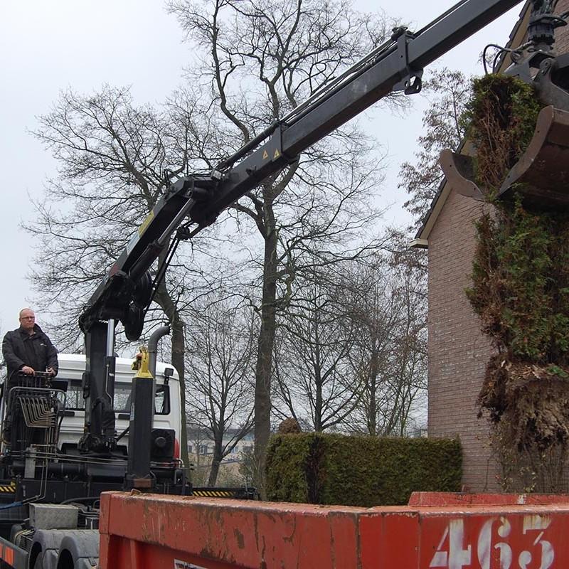 Aanleg tuin en bouw van schutting in Hengelo - 11 van 35