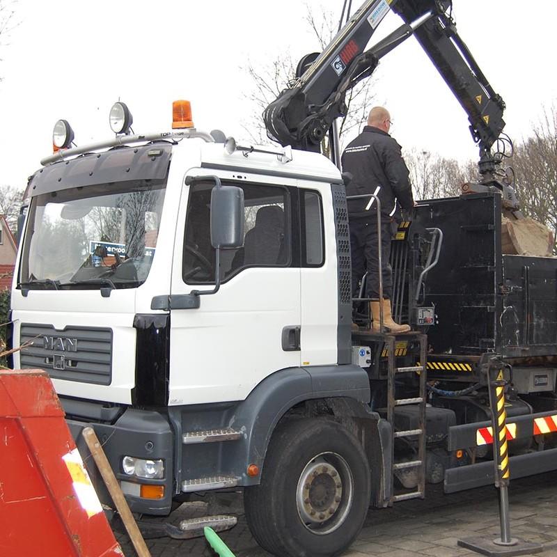 Aanleg tuin en bouw van schutting in Hengelo - 13 van 35