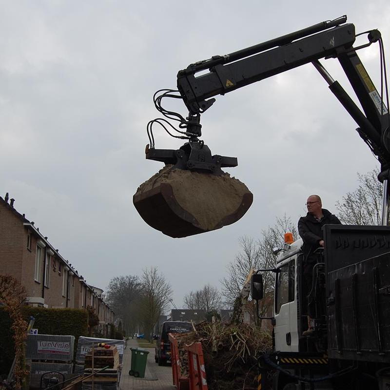 Aanleg tuin en bouw van schutting in Hengelo - 14 van 35