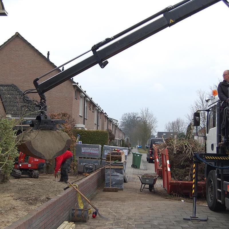 Aanleg tuin en bouw van schutting in Hengelo - 16 van 35