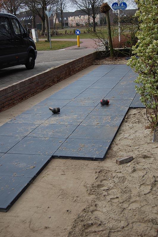 Aanleg tuin en bouw van schutting in Hengelo - 18 van 35