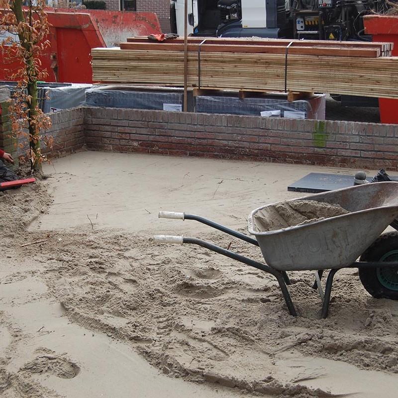 Aanleg tuin en bouw van schutting in Hengelo - 19 van 35