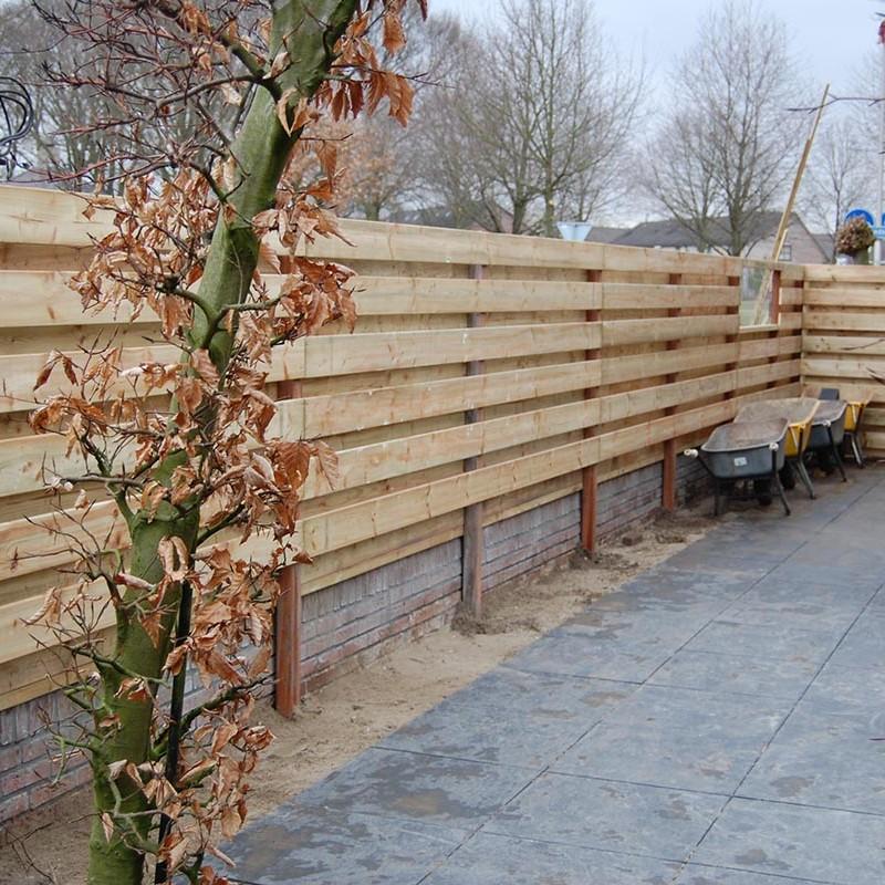 Aanleg tuin en bouw van schutting in Hengelo - 23 van 35