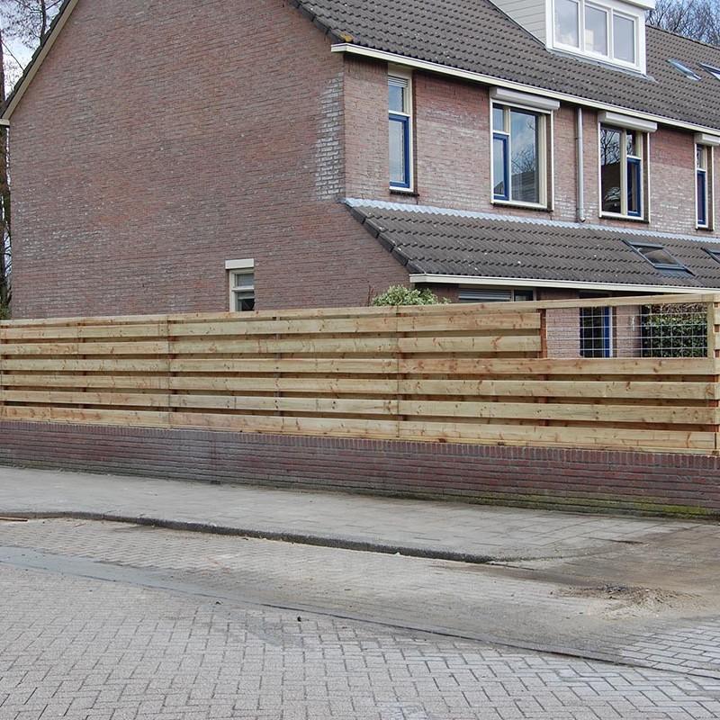 Aanleg tuin en bouw van schutting in Hengelo - 25 van 35