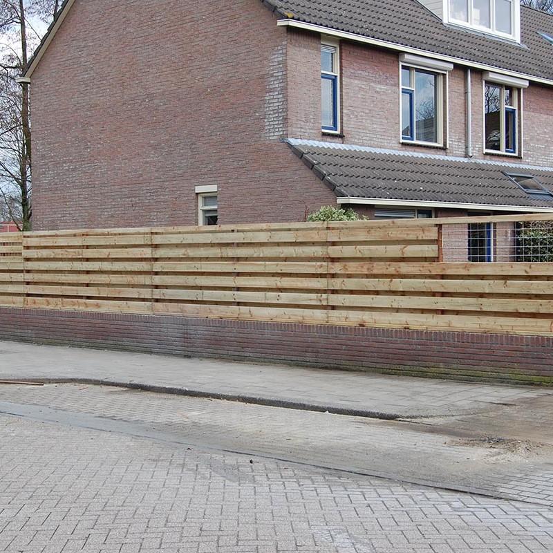 Aanleg tuin en bouw van schutting in Hengelo - 26 van 35