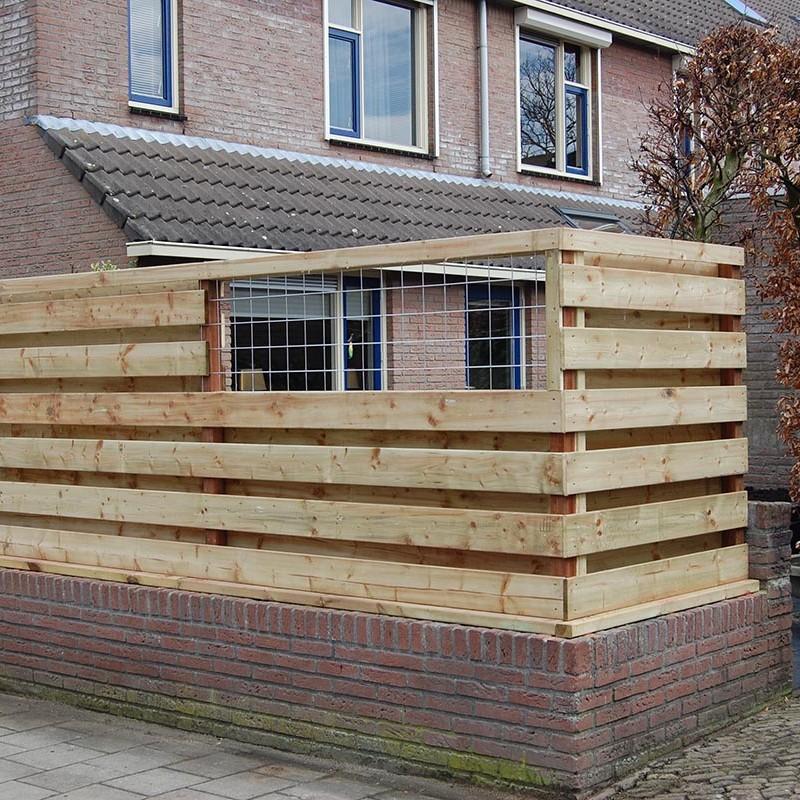 Aanleg tuin en bouw van schutting in Hengelo - 27 van 35
