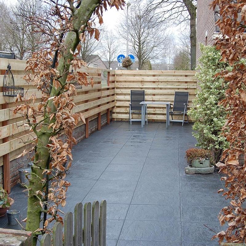 Aanleg tuin en bouw van schutting in Hengelo - 28 van 35