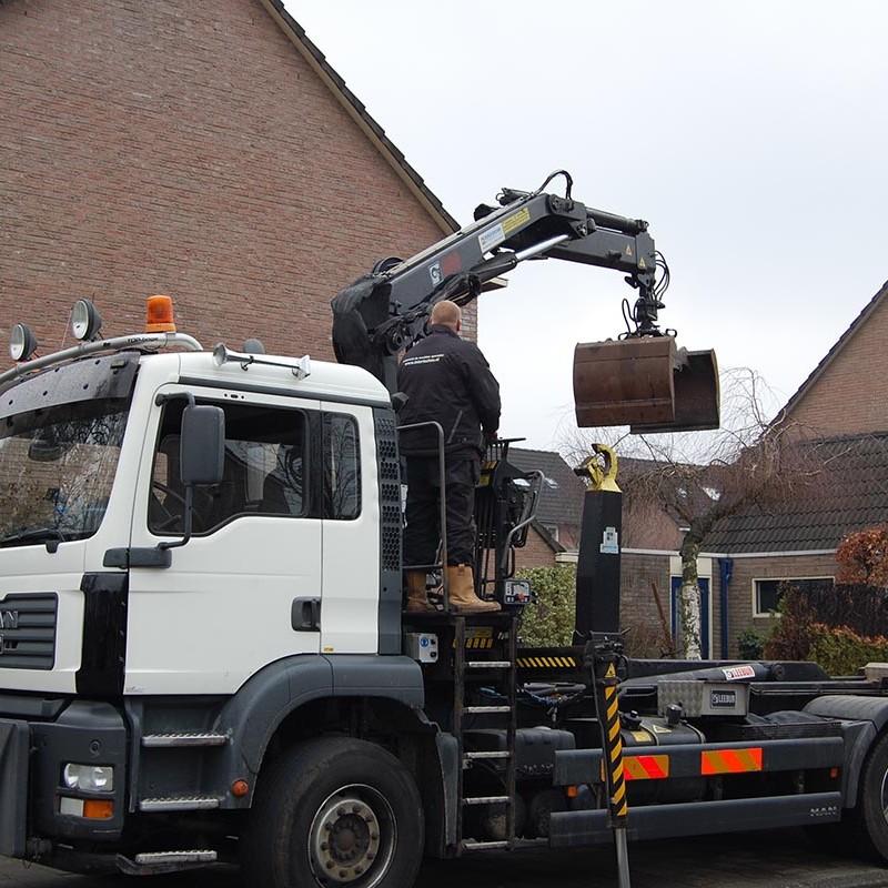 Aanleg tuin en bouw van schutting in Hengelo - 3 van 35