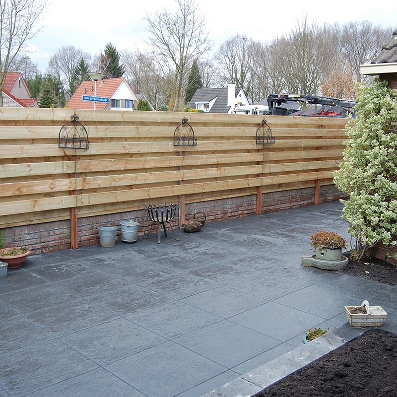 Aanleg tuin en bouw van schutting in Hengelo - 31 van 35