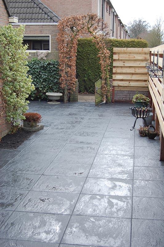 Aanleg tuin en bouw van schutting in Hengelo - 34 van 35