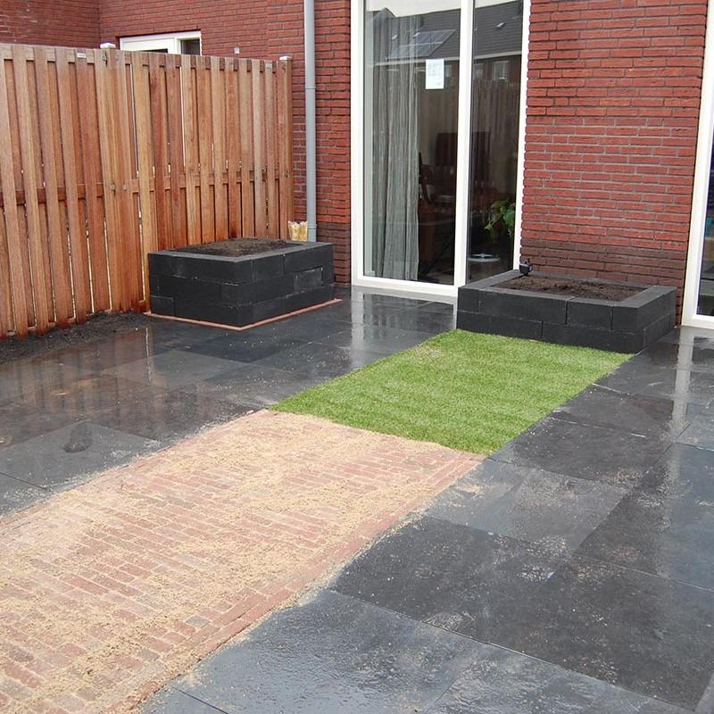 Aanleg tuin en bouw van schutting in Hengelo - 35 van 35