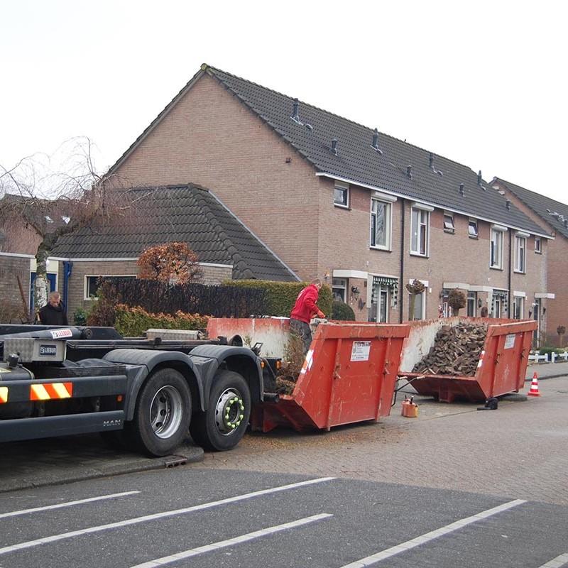 Aanleg tuin en bouw van schutting in Hengelo - 4 van 35