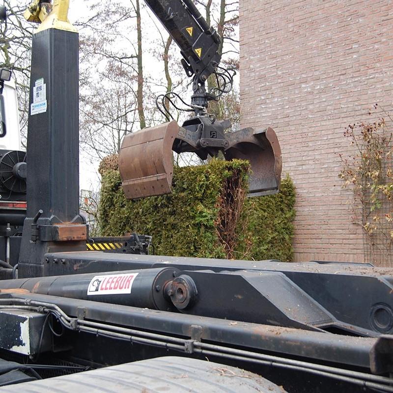 Aanleg tuin en bouw van schutting in Hengelo - 5 van 35