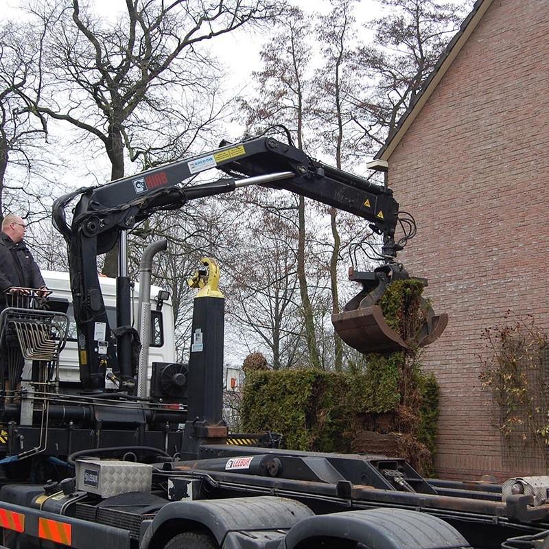 Aanleg tuin en bouw van schutting in Hengelo - 7 van 35