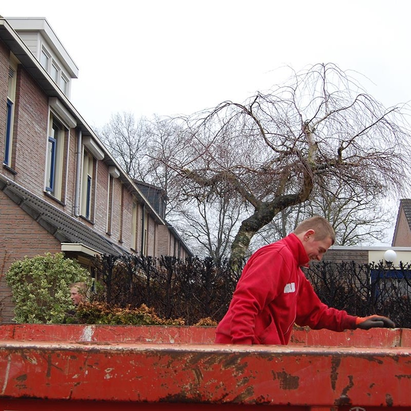 Aanleg tuin en bouw van schutting in Hengelo - 8 van 35