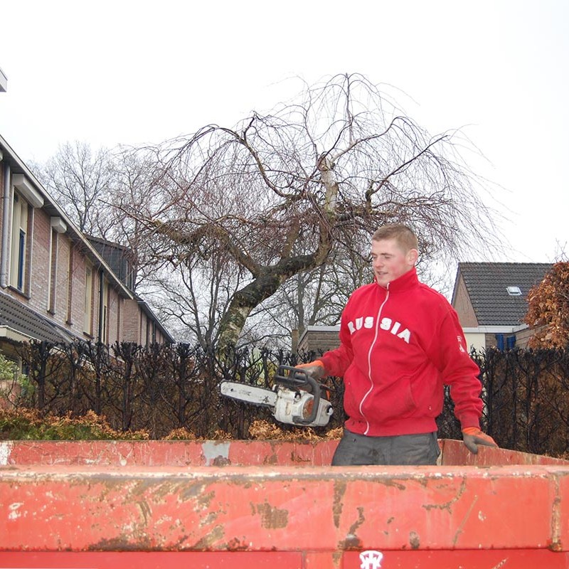 Aanleg tuin en bouw van schutting in Hengelo - 9 van 35