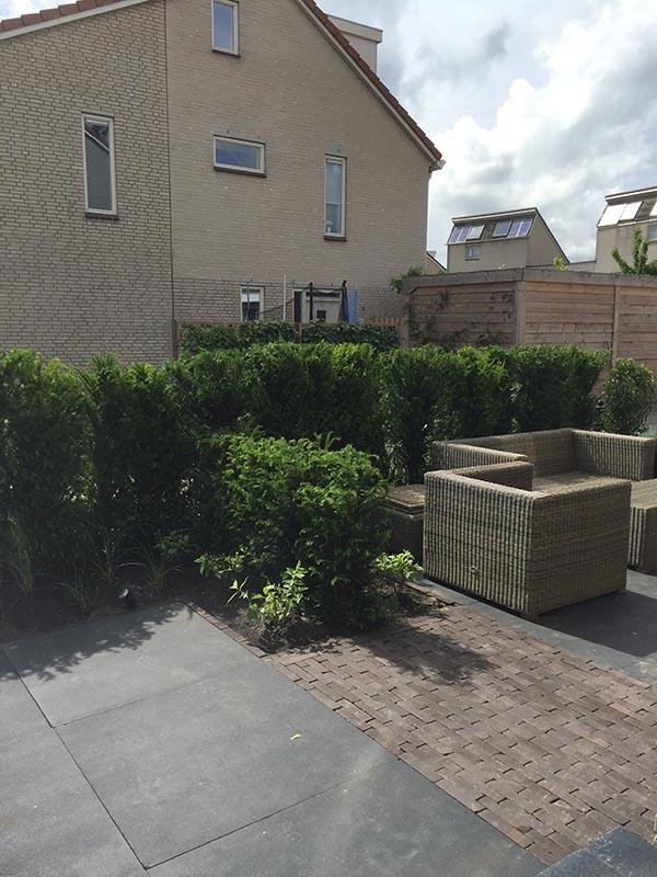 Complete tuin voorzien van tuinmeubulair - 10 van 19
