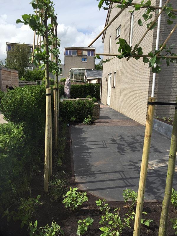 Complete tuin voorzien van tuinmeubulair - 14 van 19