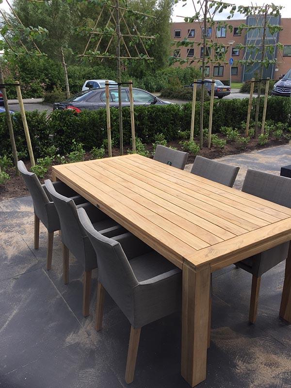 Complete tuin voorzien van tuinmeubulair - 18 van 19