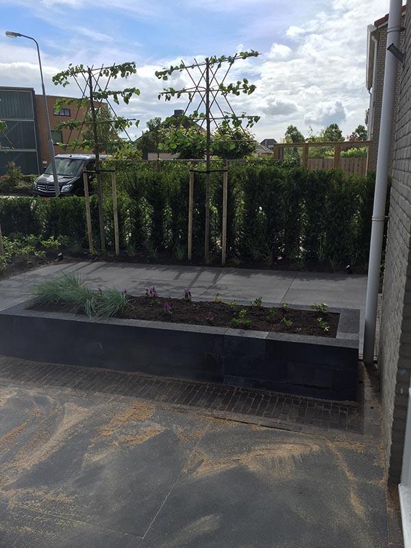 Complete tuin voorzien van tuinmeubulair - 8 van 19