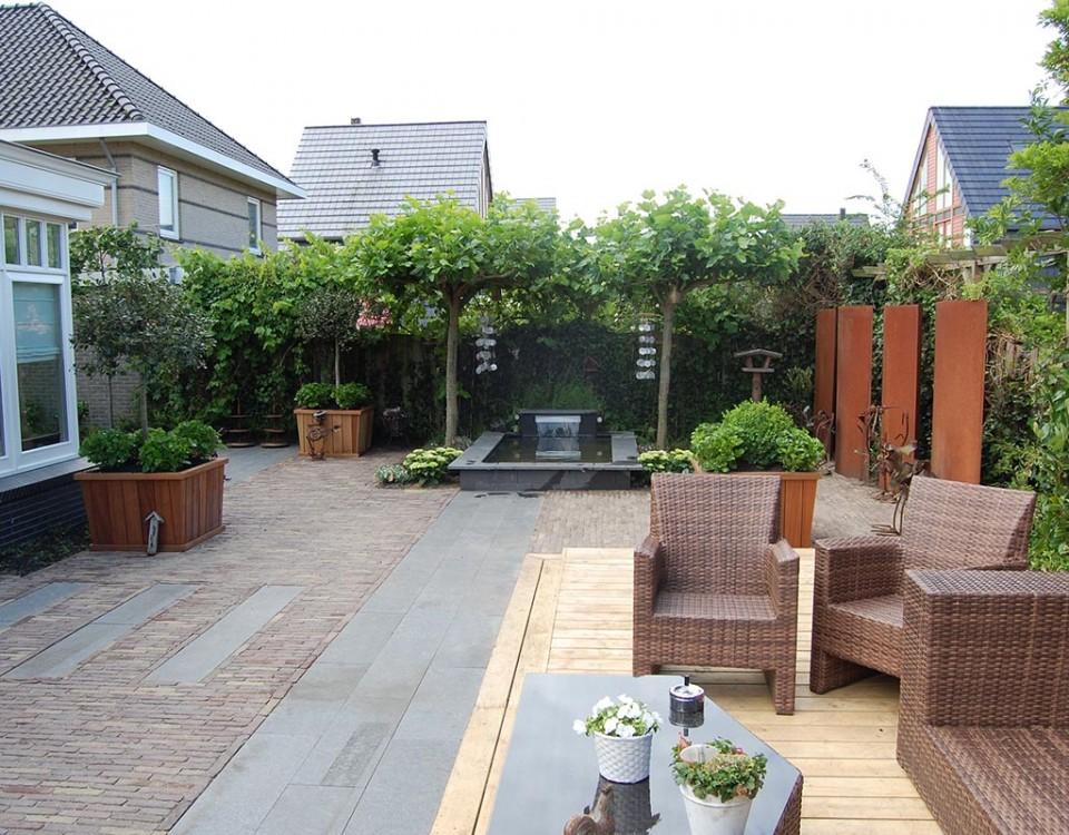 Fotoalbum garden design referenties voorbeeld tuinen tuinen tuin voorbeelden moderne for Tuin modern design