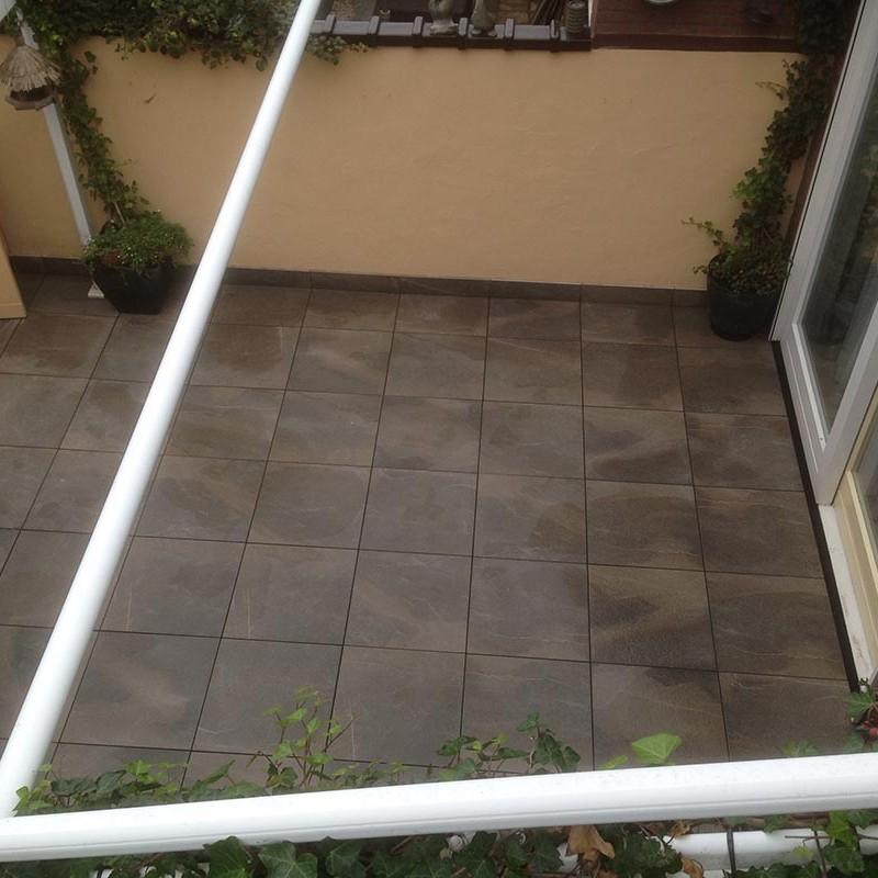 Keramische tegels in patio - 6 van 7
