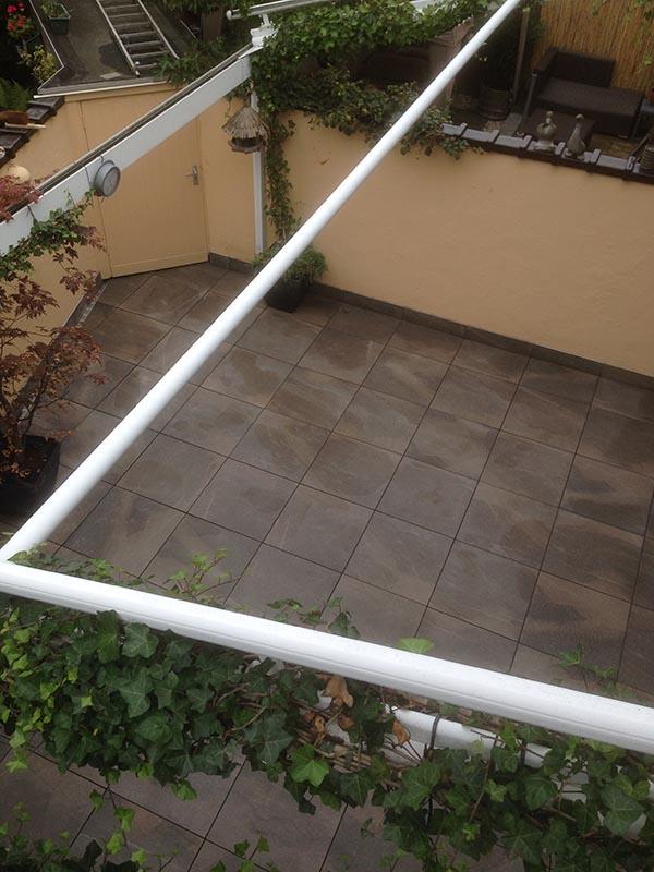 Keramische tegels in patio - 7 van 7