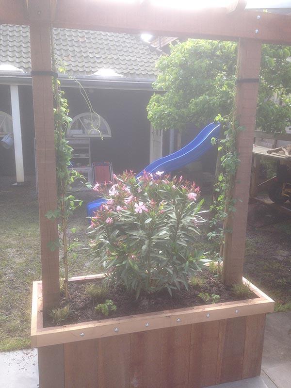 Renovatie van delen achtertuin Beverwijk - 5 van 9