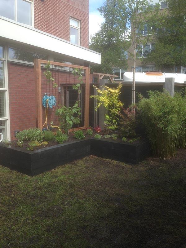 Renovatie van delen achtertuin Beverwijk - 6 van 9