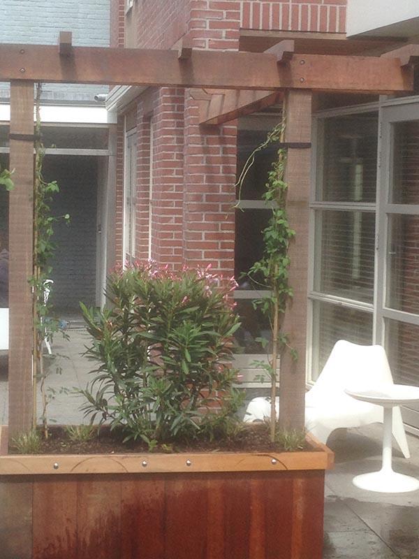 Renovatie van delen achtertuin Beverwijk - 9 van 9