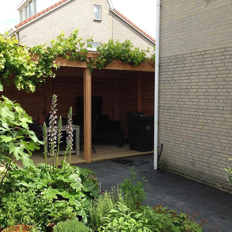 Tuin in Zuid Scharwoude - 6 van 16