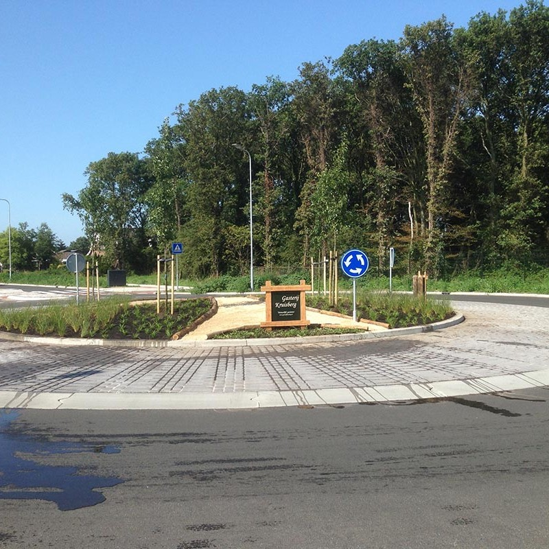 aanleg van Rotonde in Heemskerk - 3 van 4