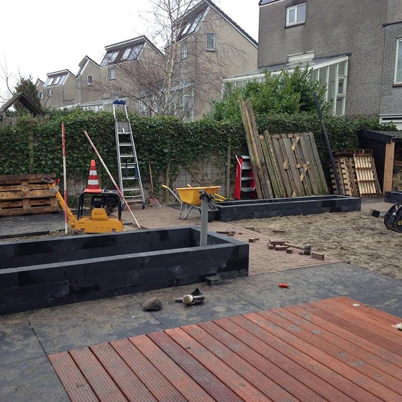 aanleg van tuin in stappen - 23 van 52
