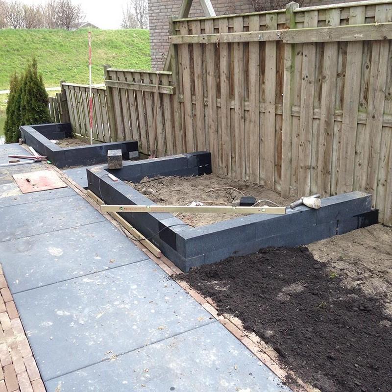 aanleg van tuin in stappen - 29 van 52