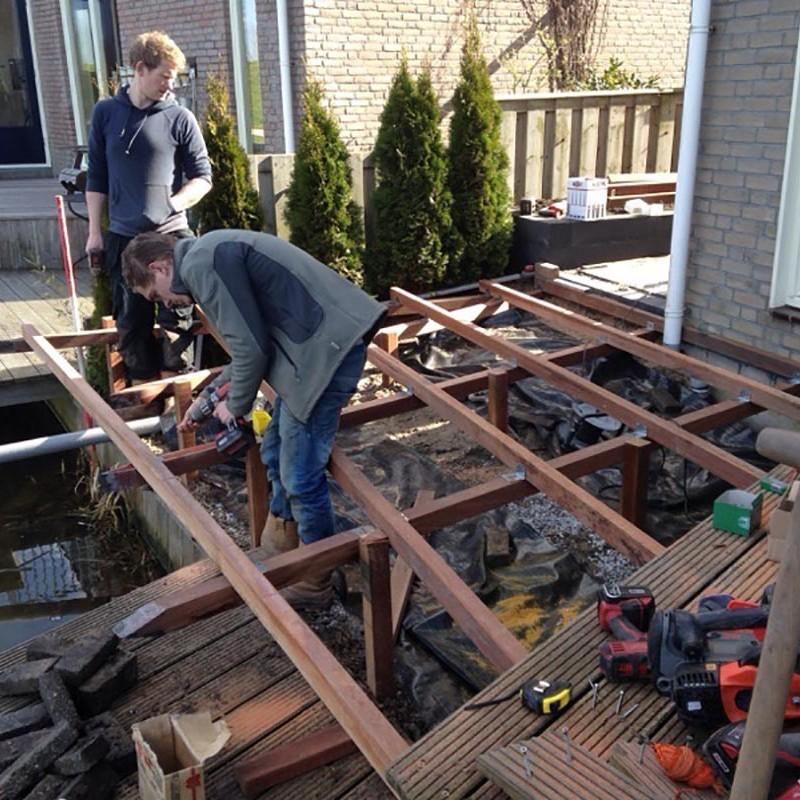 aanleg van tuin in stappen - 30 van 52