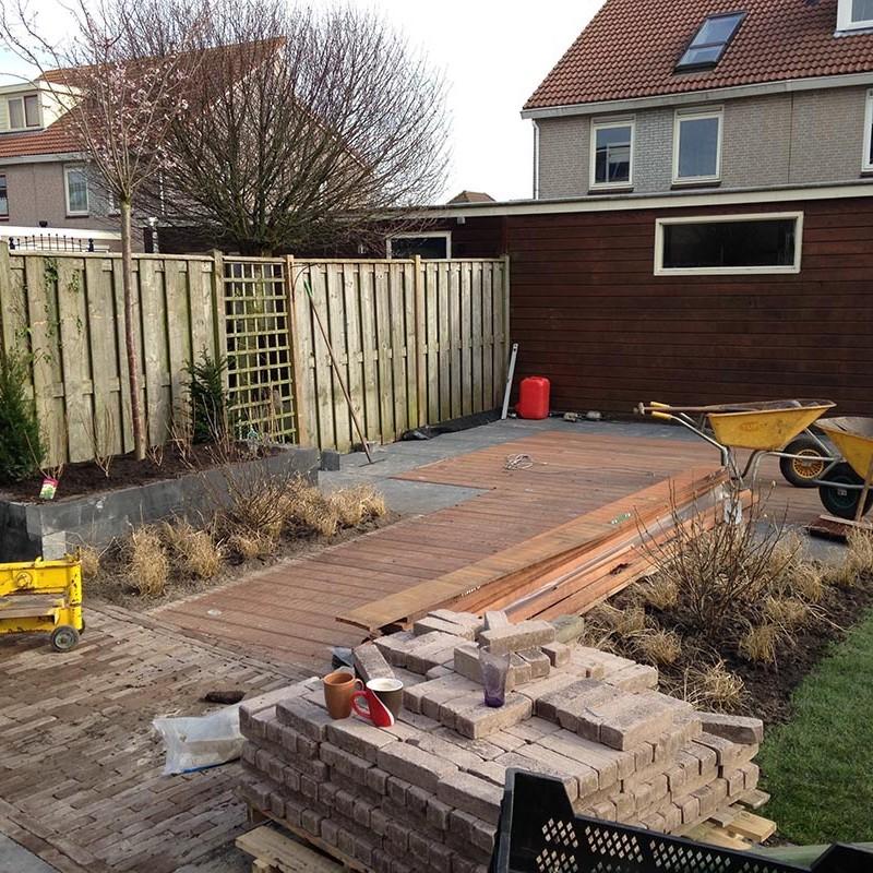 aanleg van tuin in stappen - 45 van 52